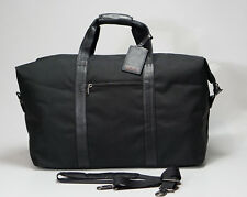TUMI 22153D4 Black Alphas Large Soft Travel Satchel Duffel Bag Carry On Ballisti