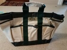 The Garden Place canvas gardening tote new without tag