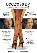Secretary (DVD, 2003 the Movie Maggie Gyllenhaal, James Spader Steven Shainberg