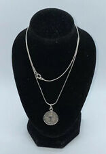 Vintage Silver 925  Necklace/ Chain With Pendant