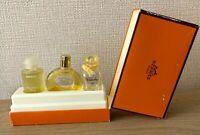 HERMES Miniature Perfume Fragrance Set Gift Box