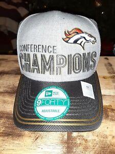 Denver Broncos 2015 AFC Championship Hat!!