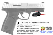 ArmaLaser GTO for S&W SD9VE / SD40VE RED Laser w/ FLX03 Grip Touch Activation