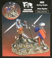 Verlinden Productions 1:32 54mm Battling Knights - Resin Figure Kit #1922