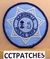 HARTSVILLE, SOUTH CAROLINA POLICE SHOULDER PATCH SC