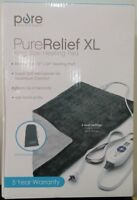 Pure Relief XL King Size Heating Pad 12 x 24 FREE SHIPPING