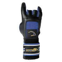 EBONITE PRO FORM GLOVE RIGHT HAND BOWLING GLOVE BLACK/YELLOW/BLUE