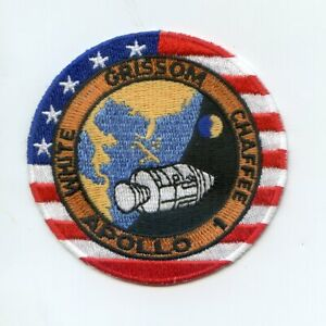 """Apollo 1 NASA 4"""" Patch - SHIPPED FREE FROM U.S."""