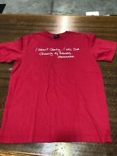 ABECROMBIE & FITCH - BRAND NEW RED  SHORT-SLEEVE T-SHIRT - SIZE TEEN LARGE