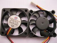1 pcs Brushless DC Cooling Fan  7 Blade 12V 5010S 50x50x10mm 3pin Sleeve Bearing