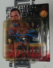 """Don Frye Signed 2001 New Japan Pro Wrestling 5"""" Action Figure BAS COA UFC Pride"""