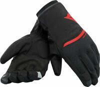 Guanti moto Dainese Plaza 2 rosso autunno inverno fall winter black red gloves