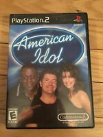 AMERICAN IDOL - PS2 - WITH MANUAL - FREE S/H - (SS)