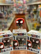 Funko Pop Miles Morales #529 Spider Man Spiderverse PX Exclusives - In Stock!