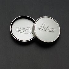 Silver L39 E39 39mm Metal Lens Cap for Leica Summicron Summaron Tinra 35/2 M50/2