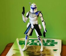 """Star Wars Captain Rex THE CLONE WARS 10"""" Action Figure Toy"""