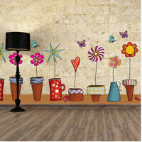 Pot Plant Flower Butterfly Nature Lovely Home Decor Decoration Home Living Room