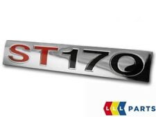 NEW GENUINE FORD FOCUS MK 1 ST170 TAILGATE NAME PLATE BADGE EMBLEM STICKER