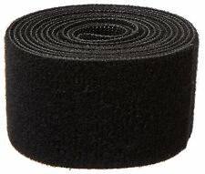 Velcro 1805-OW-PB/B-5 Nylon Onewrap Strap, Hook And Loop, 1-1/2 Wide, 5' Black