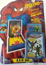 1994 Toy Biz Spiderman Pocket Comics Playset. E.S.U. Lab