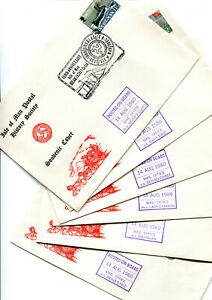 Isle of Man 1980 6 IOMSPCo posted on board covers