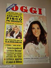 OGGI=1971/23=FLORINDA BOLKAN=ORIETTA BERTI=RICCARDO CUCCIOLA=ARTURO TESTA=INTRA=