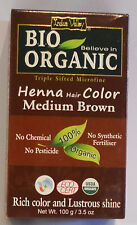 Indus Valley 103ml Henna Hair Color - Medium Brown