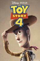 Toy Story 4 Bluray And Bonus Disk W/Case And Artwork