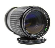 Used FOCAL MC Auto Zoom 80-200mm 1:4.5 Macro Camera Lens for Minolta