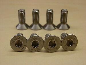 MGF MGTF MG TF MG pack of  8 STAINLESS STEEL DISC  BRAKE RETAINING SCREWS