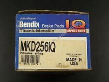 Bendix MKD256IQ Front Semi Metallic Pads fits Honda Wagovan 1.5L 1986 1987