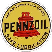 Vintage Pennsylvania Supreme Pennzoil - The Best!!