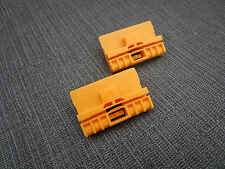 *CLASSIC* AUDI A6 WINDOW REPAIR CLIPS FRONT LEFT/RIGHT PASSENGER/DRIVER SIDES