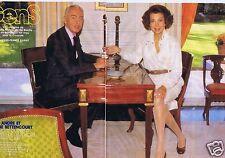 Coupure de presse Clipping 1988 André & Liliane Bettencourt (4 pages)