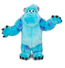 """Disney Authentic Sulley Monsters Inc University BIG Plush 15"""" Gift New"""