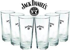 6 x Jack Daniels Longdrinkglas 0,35l  - Höhe ca.15cm