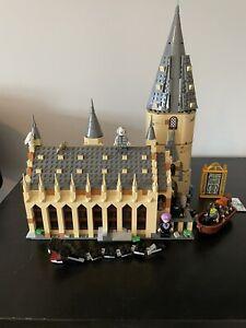 lego harry potter hogwarts great hall 75954 100% Complete