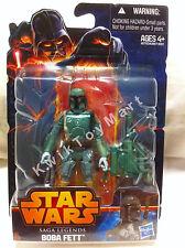 Star Wars Saga Legends Boba Fett Figure Hasbro