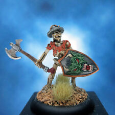 Painted Reaper Miniature Skeleton with Axe