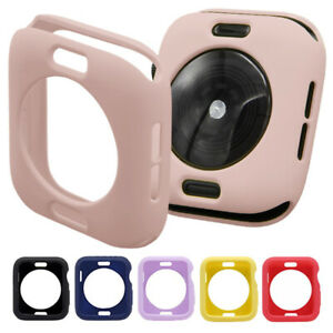 Bumper Case Cover Protector For Apple Watch Series 4 5 SE 6 40mm Candy Color 89