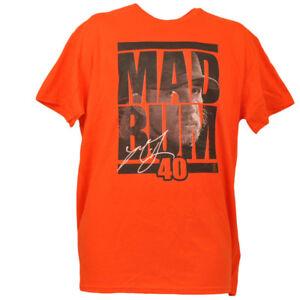 San Francisco Giants Mad Bum 40 Madison Bumgarner Orange Tshirt Tee Large Mens