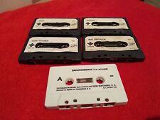 Lot of 5 cassettes for msx!!!