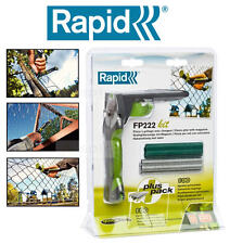 More details for new rapid wire/chain fencing/fence pliers + 200 vr22 steel hog rings kit fp222