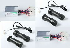 Pair (2) 250W 24V speed controller+Twist Throttle f scooter ebike electric motor