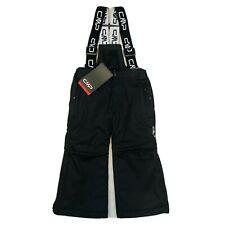 Kids CMP Black Ski Trousers Snow Pants Salopettes Size 98 cm 24 Months