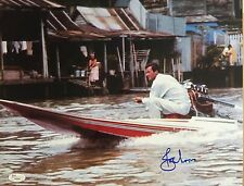 ROGER MOORE SIGNED JAMES BOND 'THE MAN WITH THE GOLDEN GUN' 11X14 PHOTO JSA COA