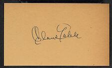 Clark Gable Autograph Reprint On Genuine Original Period 1940s 3x5 Card