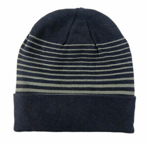 NEW Under Armour Winter Cold Gear Navy Blue/Gray Beanie/Hat
