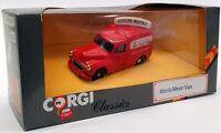 Corgi 1/43 Scale C957/6 - Morris Minor Van Foyles Brooks - Red