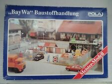 """Pola Ho 845 """"Bay Wa"""" Building Supplies Material Store Plastic Building Kit.New"""